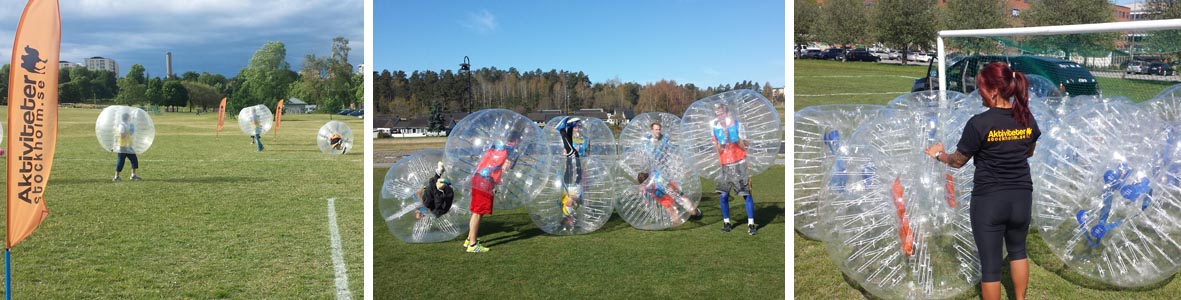 Verkligen roligt med bubblenball
