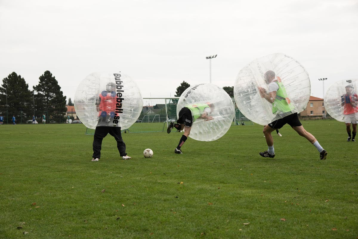 Årets roligaste sport, Bubbleball