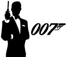 Personalfest med 007-tema