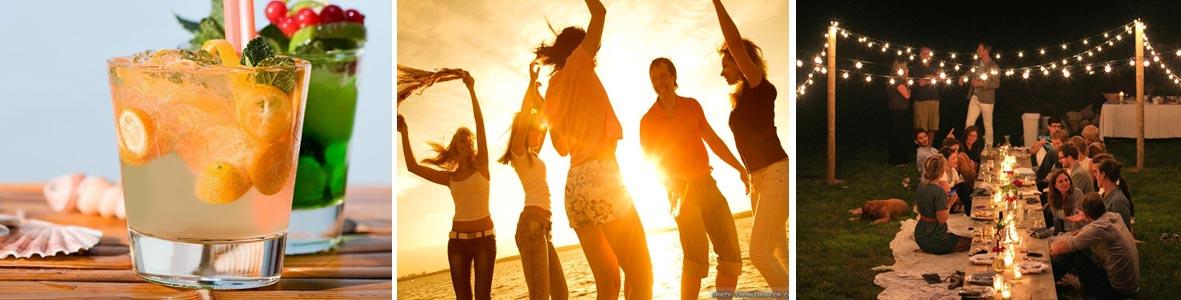Sommarfest med aktiviteter